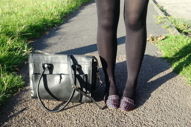 Daisybutter - UK Style and Fashion Blog: what i wore, casual outfit, uk fashion blogger, monochrome cami, new bag