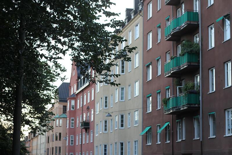 Stockholm med mamma!