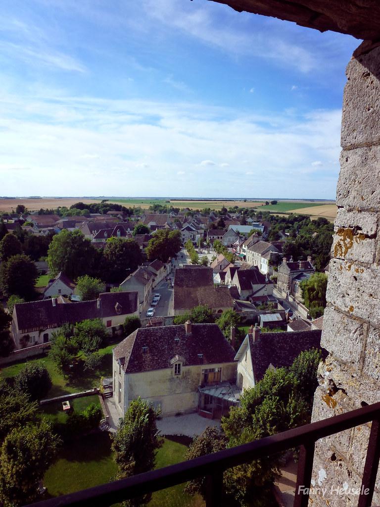 Le plateau de la Brie depuis la tour César