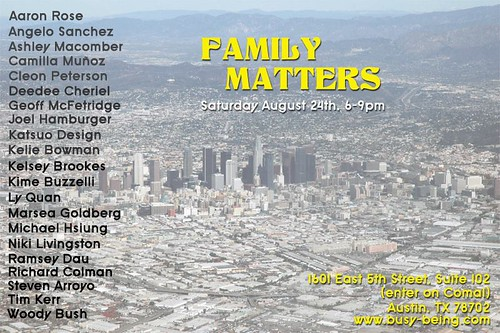 Family Matters, group show
