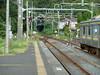 上総興津駅から見える勝浦方面のトンネル