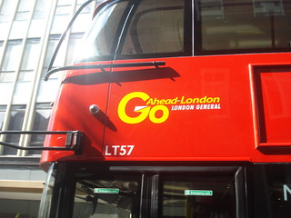 Go-Ahead London General LT57 on Route Learning (11), Sloane Square