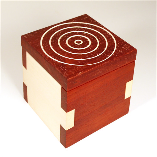 Padauk and Holly Box