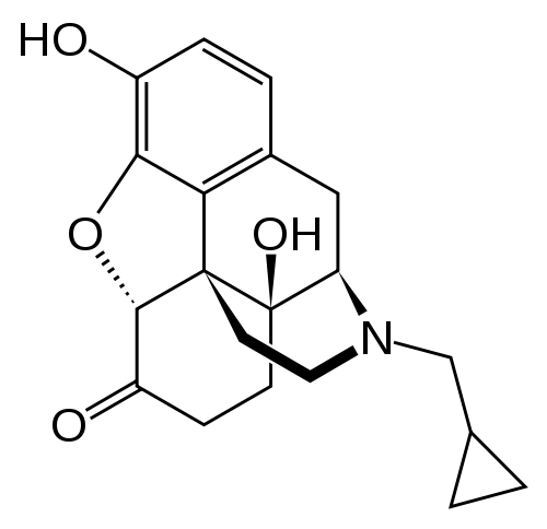 naltrexone chemical structure