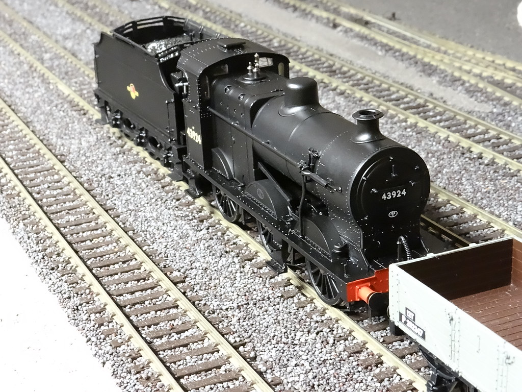 No75 Midland Or Were They Lms Fowler 4fs Silver Sidelines Wiring Harness Bachmann 4f On Unfitted Freight