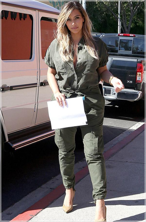 Kim-Kardashian-in-paratrooper-jumpsuit