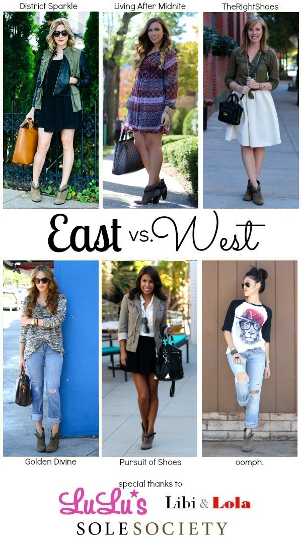 Living After Midnite: East vs West Collab Booties