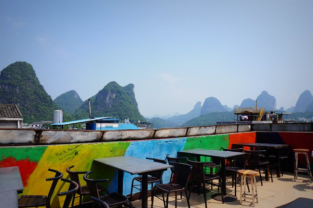 Views from Monkey Jane Hostel.