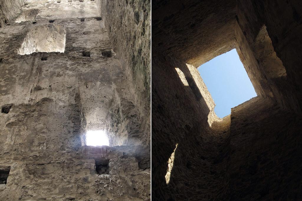 torre castilnovo_escalera_piedra ostionera_palomas_ruina