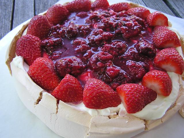 Torta Pavlova col Bimby