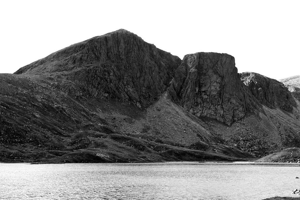 Shelter Stone Crag above Loch Avon