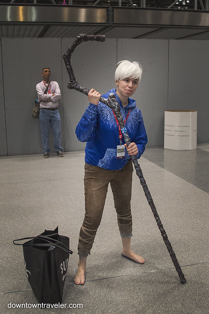 NY Comic Con Womens Costume Jack Frost Guardians