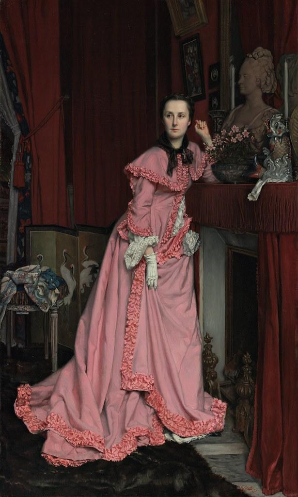 Jacques Joseph Tissot - Portrait of the Marquise de Miramon, née, Thérèse Feuillant (c.1866)