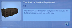 The Just Us Justice Department