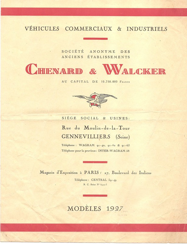 Pubs et catalogues CHENARD & WALKER 10409433553_279f7650ef_c