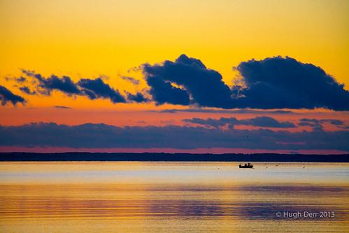 ocean autumn fall beach sunrise river neck bay virginia fishing fisherman crab chesapeake crabbing ware wanderrlust hughderr