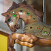 Small photo of Toronto: carousel horse at St Lawrence Market