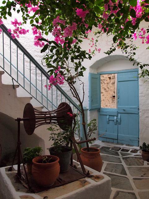 Kitron distillery in Halki, Naxos