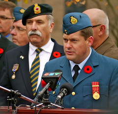 Remembrance Day Ceremony 2013 - Barrie Ontario