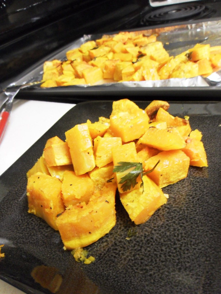 Garlic Roasted Butternut Squash