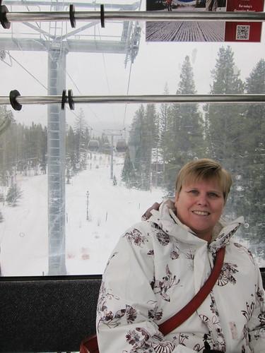 Jenny on the Gondola