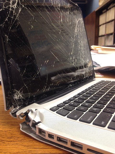 Broken MacBook Pro
