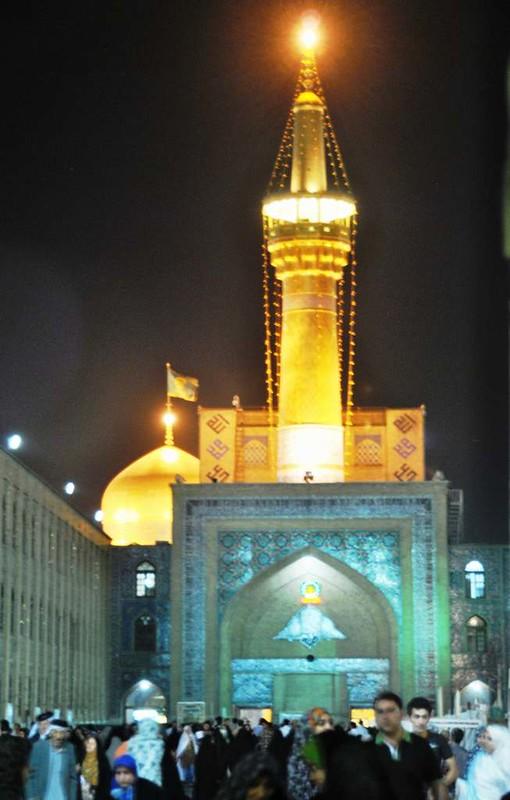 153 hasta aqui mi camara en la Mezquita Iman Reza en Massahd (14)