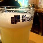 ベルギービール大好き!!ヒューガルデン・ホワイトHoegaarden Witbier @天満橋ドルフィンズ