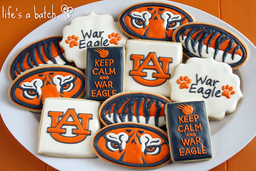 Auburn Cookies.