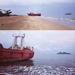 arctic ocean(0.0), arctic(0.0), tank ship(0.0), bulk carrier(0.0), bay(0.0), fishing vessel(0.0), vehicle(1.0), ship(1.0), sea(1.0), ocean(1.0), channel(1.0), shore(1.0), watercraft(1.0), shipwreck(1.0), coast(1.0), boat(1.0),