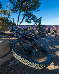 Mountain Bike at Grand Canyon National Park