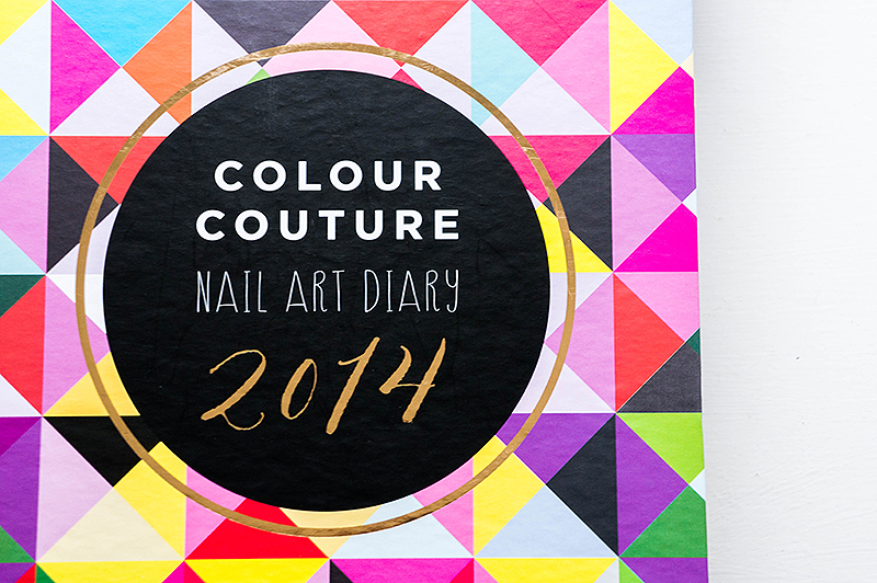 Colour Couture Nail Art Diary 2014 | www.latenightnonsense.com