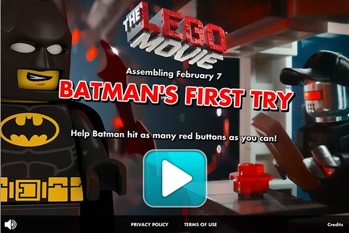 The LEGO Movie Batman's First Try