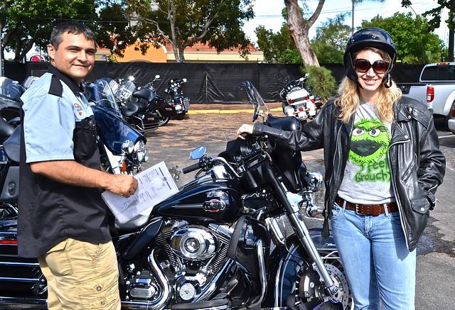 Harley Davidson motorcycle rental