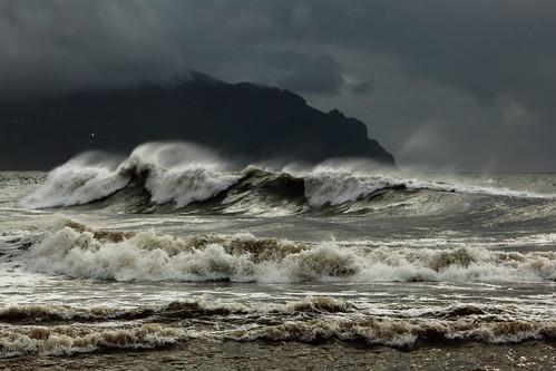 sea storm clouds canon mare waves onde mareggiata 24105mm canon60d