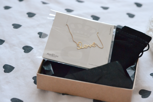 Daisybutter - UK Style and Fashion Blog: anna lou of london, jewellery giveaway, valentine's competition