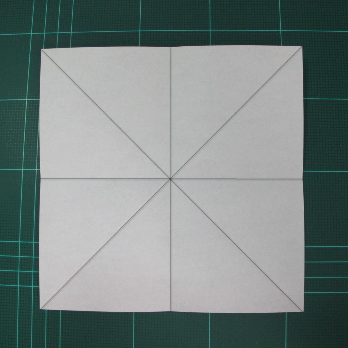 การพับกระดาษเป็นที่คั่นหนังสือหมีแว่น (Spectacled Bear Origami)  โดย Diego Quevedo 002