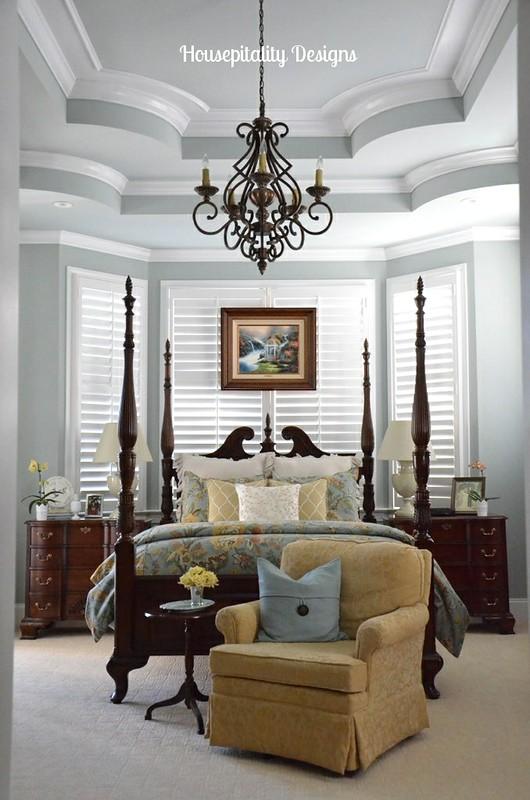 Master Bedroom for Spring