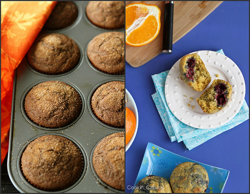 Healthy Muffin Recipes | cookincanuck.com