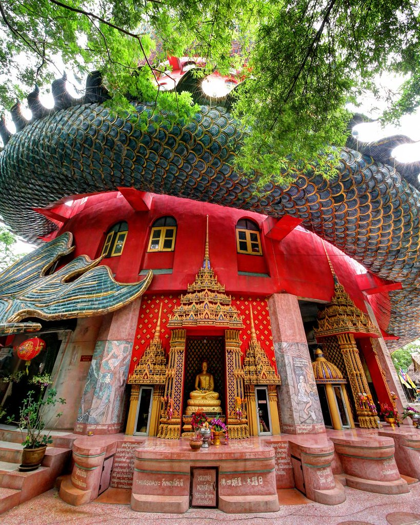 Dragon's Lair Temple / Wat Samphran / Thailand (2 of 2)