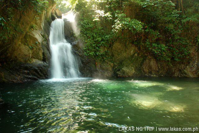 Gomot Falls in Cajidiocan, Sibuyan Island, Romblon, Philippines