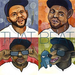 http://bit.ly/THATBEAT    I can personally attest to the fact that Snuggles has some serious tricks up his sleeve. The kid has TRACKS man! Like seriously… crazy good SONGS still in the clip. Today's EP release of THAT BEAT (Issue #1) is just the tip of a