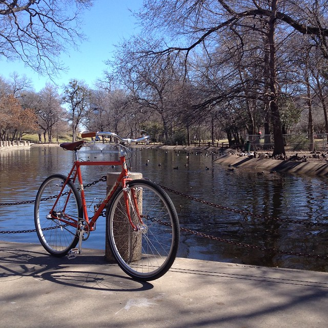 Springtime in Trinity Park