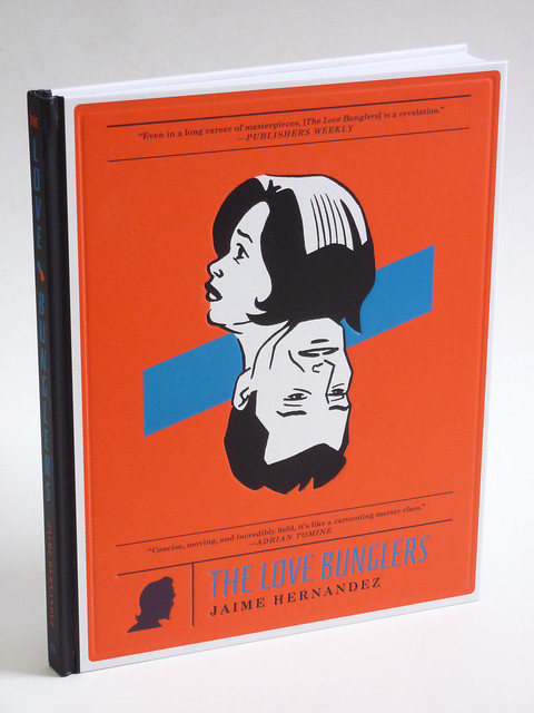The Love Bunglers by Jaime Hernandez - cover photo