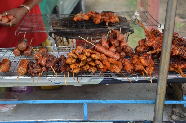 Grilled Street Food