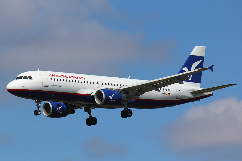 Hamburg Airways - A319 - D-AHHC (1)