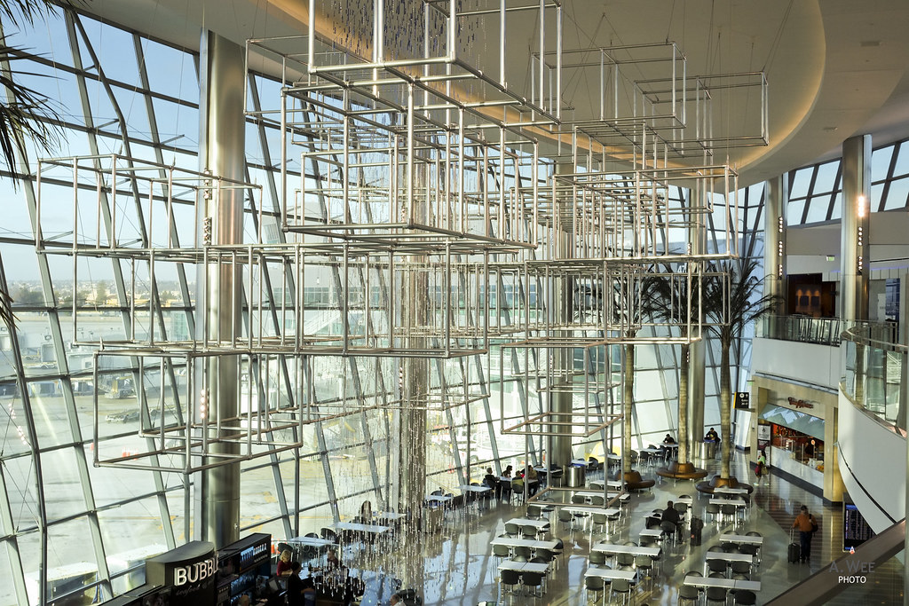 Atrium view of the airport