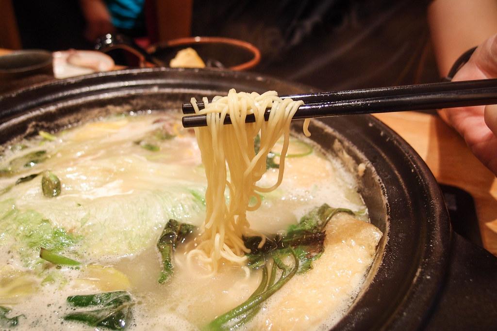 Tsukada Nojo: Noodle in pot