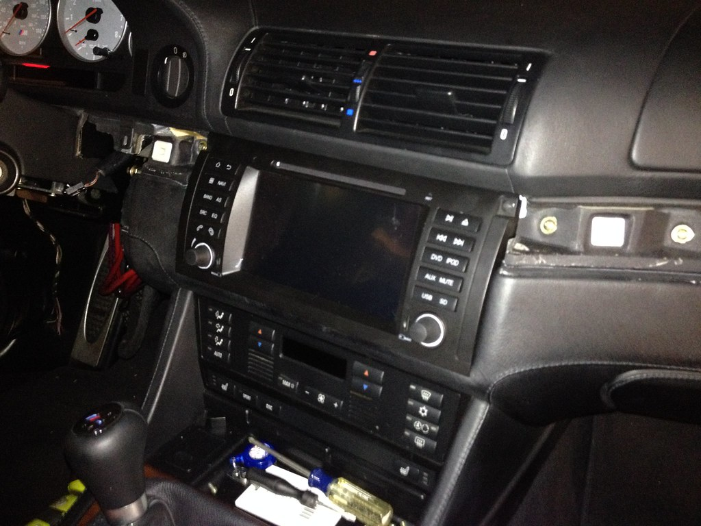 DIY: - Avin Android Head Unit Install (plus new amp) | BMW