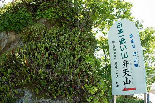Kanji sign for the small mountain